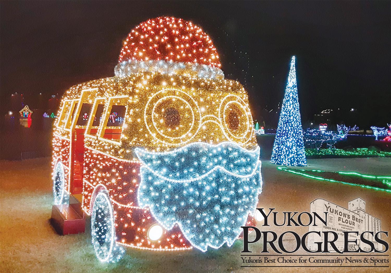 Christmas Lights Near Me 2021 Yukon Yukon Christmas Lights Shining Bright Yukon Progress